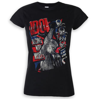 t-shirt metal donna Billy Idol - Dancing With Myself - ROCK OFF, ROCK OFF, Billy Idol