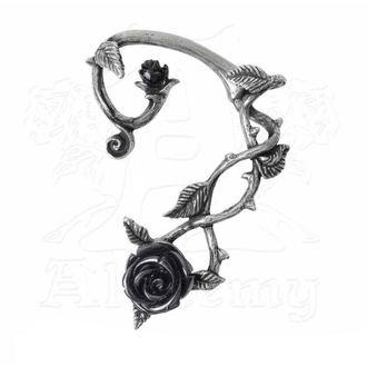 Orecchini ALCHEMY GOTHIC - Black Rose Earwrap, ALCHEMY GOTHIC