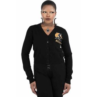 Maglione (cardigan) da donna KILLSTAR - Witch Queen Cardigan - Nero, KILLSTAR