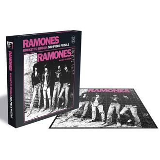 sega puzzle RAMONES - ROCKET TO RUSSIA - PLASTIC HEAD, PLASTIC HEAD, Ramones