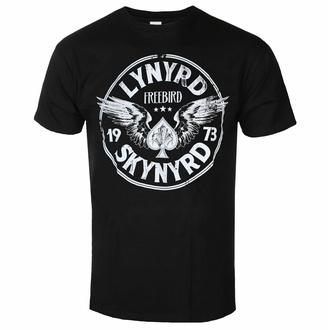 Maglietta da uomo Lynyrd Skynyrd - Freebird '73 Wings - Nero - ROCK OFF, ROCK OFF, Lynyrd Skynyrd