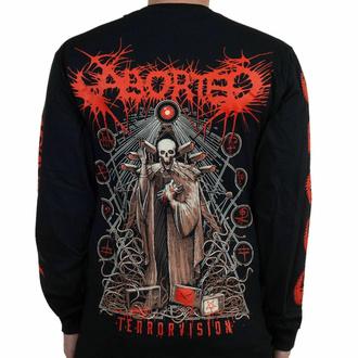 Maglietta a maniche lunghe Aborted - Terror Vision - Nero - INDIEMERCH, INDIEMERCH, Aborted