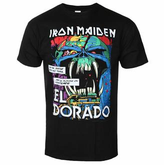 Maglietta da uomo Iron Maiden - El Dorado BL - ROCK OFF, ROCK OFF, Iron Maiden
