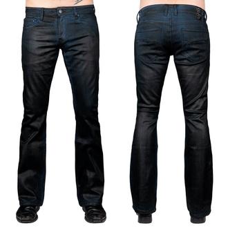 Pantaloni (jeans) da uomo WORNSTAR - Hellraiser Coated - Cobalto Blu, WORNSTAR