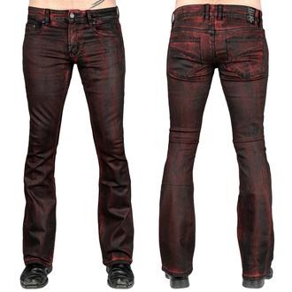 Pantaloni da uomo (jeans) WORNSTAR - Hellraiser Crimson Coated, WORNSTAR