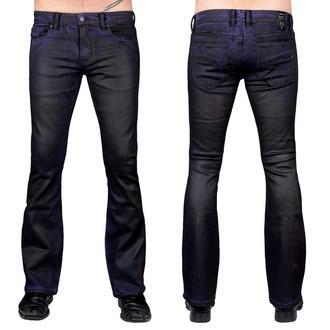 Pantaloni (jeans) da uomo WORNSTAR - Hellraiser Coated - Viola Foschia, WORNSTAR