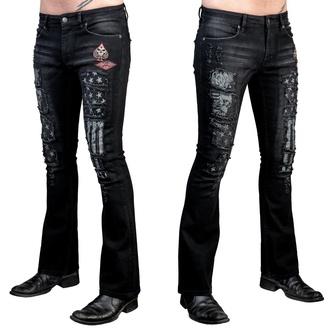 pantaloni (jeans) WORNSTAR - Riven - Nero, WORNSTAR