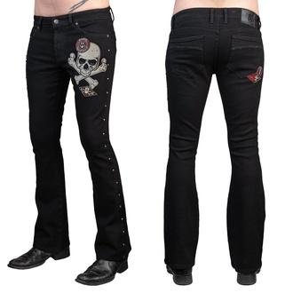 pantaloni (jeans) WORNSTAR - Vanguard - Nero, WORNSTAR