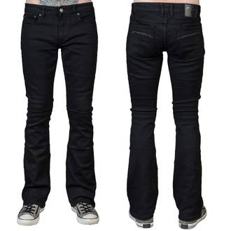 Pantaloni (jeans) da uomo WORNSTAR - Hellraiser - Nero, WORNSTAR