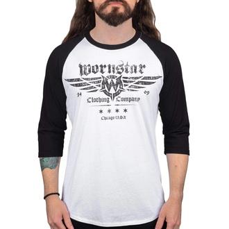 Maglietta da uomo con maniche a 3/4 WORNSTAR - Machine Shop, WORNSTAR