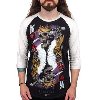Maglietta da uomo con maniche a 3/4 WORNSTAR - Suicide King, WORNSTAR