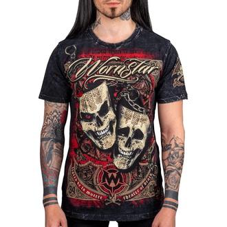 t-shirt uomo WORNSTAR - Muerte - Nero - WSUS-MUE