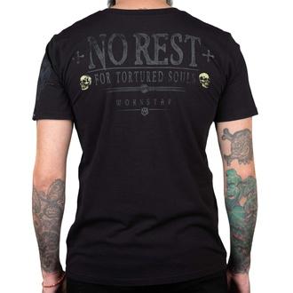 Maglietta da uomo WORNSTAR - No Rest, WORNSTAR