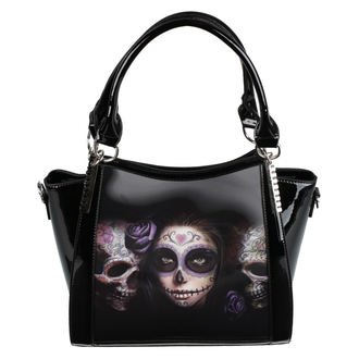 borsetta (borsa) ANNE STOKES - Day Of The Dead - Nero, ANNE STOKES