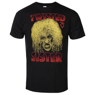 Maglietta da uomo Twisted Sister - Dee Snider - Nero - HYBRIS, HYBRIS, Twisted Sister