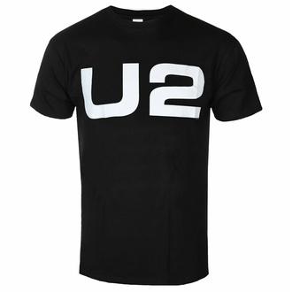 Maglietta da uomo U2 - Logo - Nero - ROCK OFF, ROCK OFF, U2
