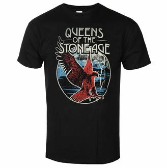 Maglietta da uomo Queens of the Stone Age - Eagle - NERO - ROCK OFF, ROCK OFF, Queens of the Stone Age