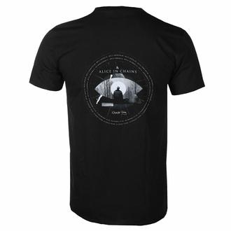 Maglietta da uomo Alice In Chains - Fog Mountain - NERO - ROCK OFF, ROCK OFF, Alice In Chains