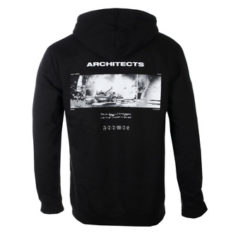 Felpa da uomo con cappuccio Architects - Armageddon - Nero - KINGS ROAD, KINGS ROAD, Architects