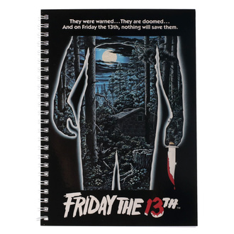Quaderno Friday the 13th - Movie Poster, NNM, Friday the 13th