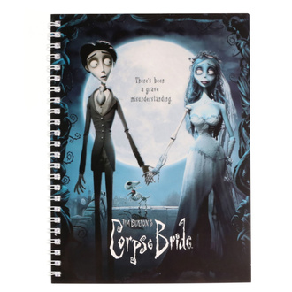 Quaderno La Sposa Fantasma Tim Burton - Movie Poster, NNM, Corpse Bride