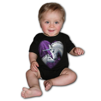 body per bambini SPIRAL - SACRED LOVE - Nero, SPIRAL