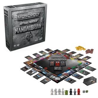 Gioco da tavolo STAR WARS - Monopoly The Mandalorian *English Version*, NNM, Star Wars