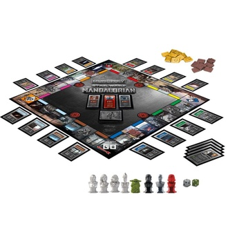 Gioco da tavolo STAR WARS - Monopoly The Mandalorian *English Version*, NNM, Star Wars