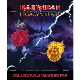 spillette Iron Maiden - Legacy of the Beast - Chiaroveggente & di vimini Uomo, NNM, Iron Maiden