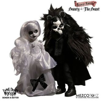 Bambola - Living Dead Dolls - Scary Tales Beauty and the Beast, LIVING DEAD DOLLS