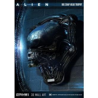 Decorazione da parete Alien - 3D Wall Art Big Chap Head Trophy, NNM, Alien