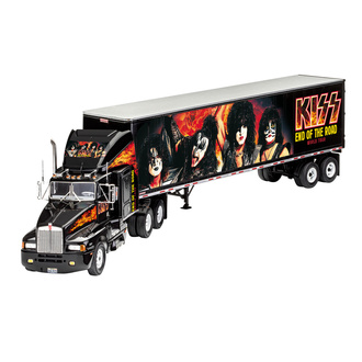 Decorazione (Modellino camion) Kiss - Modello Kit 1/32 Camion da tournée, NNM, Kiss