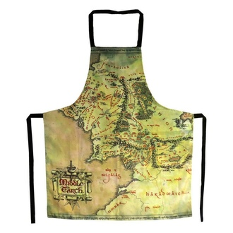 Grembiule Lord of the Rings - The Middle Earth Map, NNM, Pán prstenů