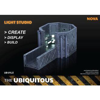 decoratiom (Diorama) Onnipresente Diorama Astuccio con Illuminazione per Azione figure LS Edizione