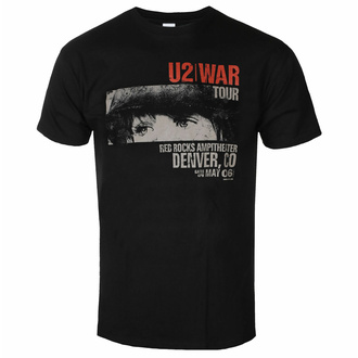 Maglietta da uomo U2 - War Red Rocks - ROCK OFF, ROCK OFF, U2