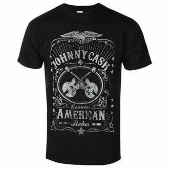 Maglietta da uomo Johnny Cash - American Rebel - ROCK OFF, ROCK OFF, Johnny Cash