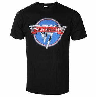 Maglietta da uomo Van Halen - Chrome Logo - ROCK OFF, ROCK OFF, Van Halen