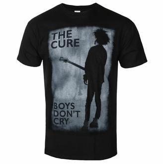 Maglietta da uomo Cure - Boys Don't Cry - NERO - ROCK OFF, ROCK OFF, Cure