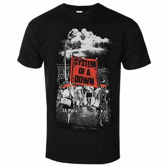 Maglietta da uomo System Of A Down - Banner March - ROCK OFF, ROCK OFF, System of a Down