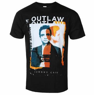Maglietta da uomo Johnny Cash - Outlaw Photo - ROCK OFF, ROCK OFF, Johnny Cash