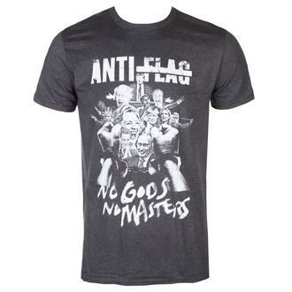 t-shirt metal uomo Anti-Flag - No Gods, No Masters - KINGS ROAD, KINGS ROAD, Anti-Flag