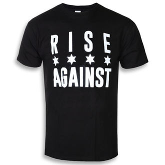 t-shirt metal uomo Rise Against - Chicago Flag White - KINGS ROAD, KINGS ROAD, Rise Against