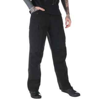 pantaloni uomo M65 Cerniera NYCO lavato - Nero, MMB