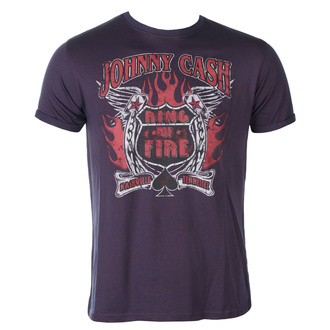 t-shirt metal uomo Johnny Cash - Ring Of Fire BO - ROCK OFF, ROCK OFF, Johnny Cash