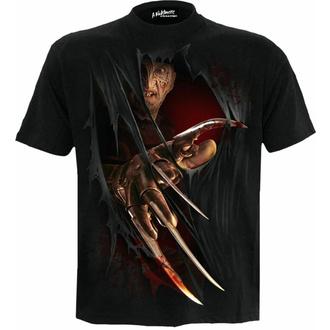 Maglietta da uomo SPIRAL - A Nightmare On Elm Street - FREDDY CLAWS ELM STREET - Nero, SPIRAL, Nightmare - Dal profondo della notte