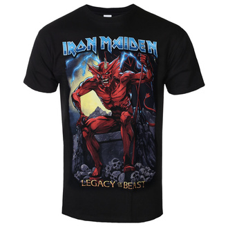 t-shirt metal uomo Iron Maiden - Legacy of the Beast 2 Devil - ROCK OFF, ROCK OFF, Iron Maiden