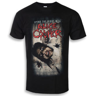 t-shirt metal uomo Alice Cooper - Spend The Night With Spiders - ROCK OFF, ROCK OFF, Alice Cooper