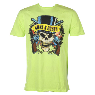Maglietta da uomo Guns N' Roses - DEATH SKULL - OCEANO COLORE VERDE - AMPLIFIED, AMPLIFIED, Guns N' Roses