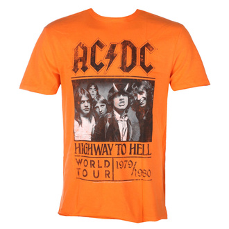 Maglietta da uomo AC/DC  - HIGHWAY TO HELL TOUR - ORANGE CRUSH - AMPLIFIED, AMPLIFIED, AC-DC