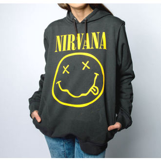 felpa con capuccio uomo Nirvana - AMPLIFIED - AMPLIFIED, AMPLIFIED, Nirvana